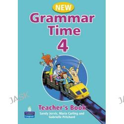 Grammar Time, Teachers Book Level 4 by Sandy Jervis, 9781405852760.