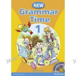 Grammar Time, Student Book Level 1 by Sandy Jervis, 9781405866972.