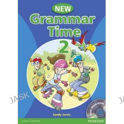 Grammar Time, Student Pack Book 2 by Sandy Jervis, 9781405866989.