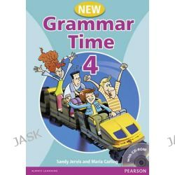 Grammar Time, Student Book Pack Level 4 by Sandy Jervis, 9781405867009.