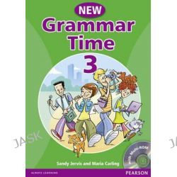 Grammar Time 3 Student Book Pack, Student Book Pack Level 3 by Sandy Jervis, 9781405866996.