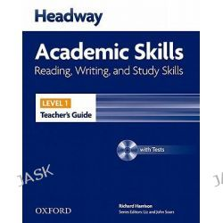 Headway Academic Skills, 1: Reading, Writing, and Study Skills Teacher's Guide with Tests CD-ROM by HARRISON, 9780194741620.