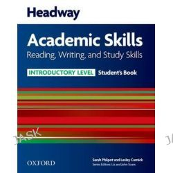 Headway Academic Skills, Introductory: Reading, Writing, and Study Skills Student's Book by Sarah Philpot, 9780194741682.