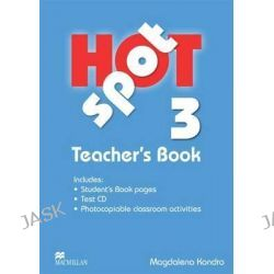 Hot Spot 3, Teacher's Book + Test CD by Colin Granger, 9780230717923.