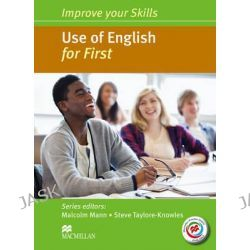 Improve Your Skills, Use of English for First Student's Book without Key & MPO Pack by Malcolm Mann, 9780230461871.