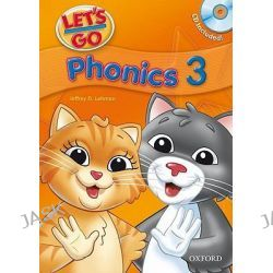 Let's Go, Phonics Book with Audio CD Pack: Phonics Book 3 with Audio CD Pack by Jeffrey D. Lehman, 9780194395083.