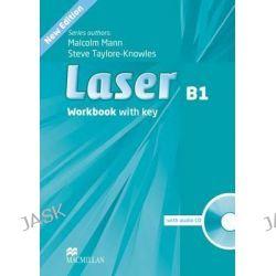 Laser Workbook (+key) & CD Pack Level B1, Laser by Malcolm Mann, 9780230433533.