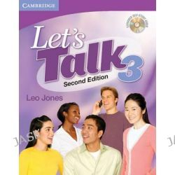 Let's Talk 3, Second Edition - Expanded Self Study Audio by Leo Jones, 9780521692878.
