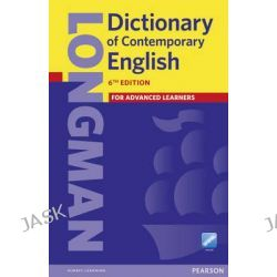 Longman Dictionary of Contemporary English 6, Longman Dictionary of Contemporary English by Longman, 9781447954200.