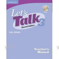 Let's Talk Level 3 Teacher's Manual with Audio CD, Let's Talk (Cambridge Teacher's Manuals) by Leo Jones, 9780521692885.