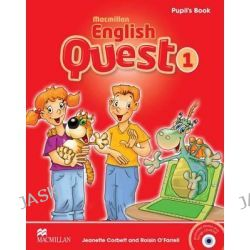Macmillan English Quest Pupil's Book Pack Level 1, Macmillan English Quest by Jeanette Corbett, 9780230443808.