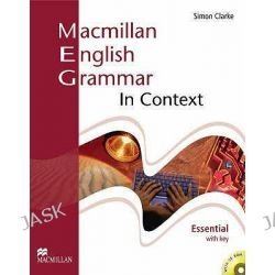 Macmillan English Grammar in Context Essential with Key and CD-ROM Pack, Elt Skills and Grammar by S. Clarke, 9781405070515.