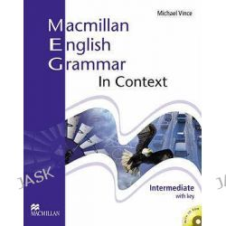 Macmillan English Grammar in Context Intermediate with Key and CD-ROM Pack, Includes CD Rom and Key by S. Clarke, 9781405071437.