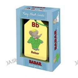 Babar Learn Your Abcs! Ring Flash Cards, Babar Gift by Laurent de Brunhoff, 9780735337725.
