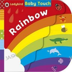 Baby Touch, Rainbow by Ladybird, 9780718193522.