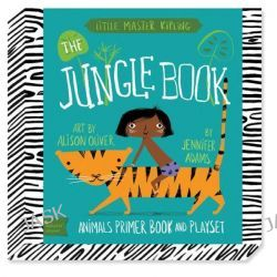 Babylit Jungle Book Playset, Animal Primer Book and Playset by Alison Oliver, 9781423637462.