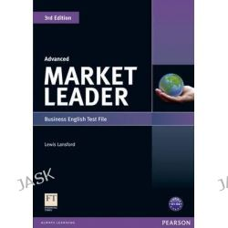 Market Leader 3rd Edition Advanced Test File, Market Leader by Lewis Lansford, 9781408219638.