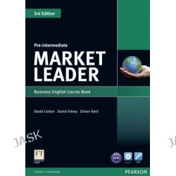 Market Leader Pre-intermediate Coursebook & DVD-rom Pack, Market Leader by David Cotton, 9781408237076.