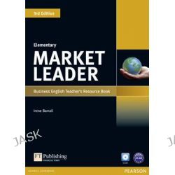 Market Leader Elementary Teacher's Resource Book/Test Master, Market Leader by Irene Barrall, 9781408279212.