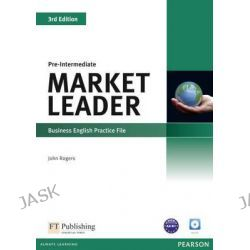 Market Leader Pre-intermediate Practice File & Practice File CD Pack, Market Leader by John Rogers, 9781408237083.