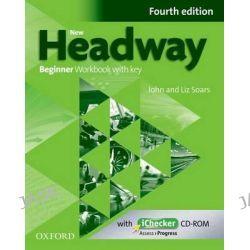 New Headway, Beginner: Workbook + iChecker with Key by John Soars, 9780194771085.