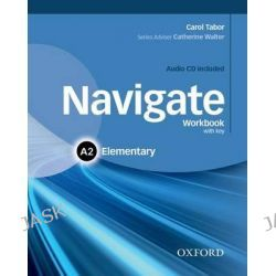 Navigate, Elementary A2: Workbook with CD (with Key) by Jake Hughes, 9780194566407.
