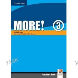 More! Level 3 Teacher's Book, More! by Julie Penn, 9780521713092.