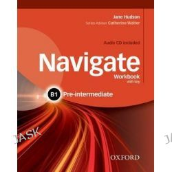 Navigate, Pre-Intermediate B1: Workbook with CD (with Key) by Caroline Krantz, 9780194566537.