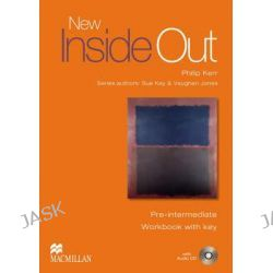 New Inside Out Pre-intermediate, Workbook + Key Pack by Sue Kay, 9781405099646.