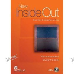 New Inside Out Pre-intermediate, Student's Book Pack by Sue Kay, 9781405099547.