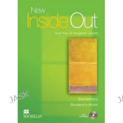 New Inside Out: Elementary, Student's Book with CD ROM Pack by Sue Kay, 9781405099493.