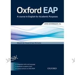 Oxford EAP, Upper-intermediate/B2: Student's Book and DVD-ROM Pack by OXFORD, 9780194001786.