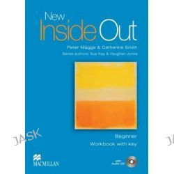 New Inside Out: Beginner, Workbook Pack with Key by Pete Maggs, 9781405070607.