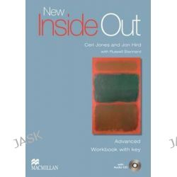 New Inside Out Advanced, Work Book + Key with Audio CD by Sue Kay, 9780230009363.