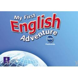 My First English Adventure, Starter Flashcards by Mady Musiol, 9780582793767.