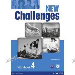 New Challenges 4 Workbook & Audio CD Pack, Challenges by Amanda Maris, 9781408298466.