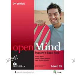 Open Mind 2nd Edition AE Level 3B Student's Book Pack by Mickey Rogers, 9780230459748.