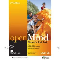 Open Mind 2nd Edition AE Level 2B Student's Book Pack by Mickey Rogers, 9780230459656.