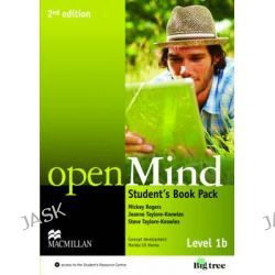 Open Mind 2nd Edition AE Level 1B Student's Book Pack by Mickey Rogers, 9780230459106.