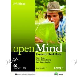 Open Mind 2nd Edition AE Level 1 Student's Book Pack by Mickey Rogers, 9780230459083.