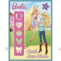 Barbie Loves Horses, Barbie (Golden Books) by Mary Man-Kong, 9780449816127.