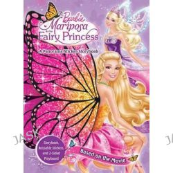 Barbie Mariposa & the Fairy Princess, A Panorama Sticker Storybook by Ulkutay Design Group, 9780794428372.