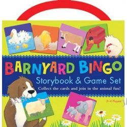 Barnyard Bingo Book & Game Set by Tiger Tales, 9781589255142.