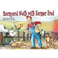 Barnyard Math W/Farmer Fred by Sandi Hill, 9781574713732.