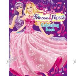 Barbie: The Princess & the Popstar Colouring Book by The Five Mile Press, 9781743009451.