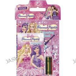 Barbie: The Princess & the Popstar, Colouring and Activity Pack by The Five Mile Press, 9781743009475.