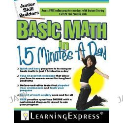 Basic Math in 15 Minutes a Day, Junior Skill Builders by Learning Express LLC, 9781576856604.