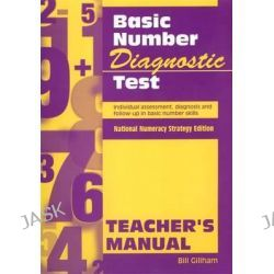 Basic Number Diagnostic Test Pk 10, Individual Assessment, Diagnosis and Follow-Up in Basic Number Skills by Bill Gillham, 9780340801130.