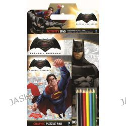 Batman Vs Superman Activity Bag, Batman vs Superman : Dawn of Justice, 9781760274054.