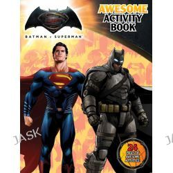 Batman vs Superman Awesome Activity Book, Batman vs Superman : Dawn of Justice, 9781760274085.